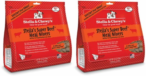 Stella & Chewy's Stella's Super Beef Freeze-Dried Meal Mixers 36oz (2 x 18oz)