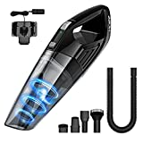 HoLife Cordless Vacuum Cleaner with 14.8V Li-ion Battery Powered Rechargeable Quick Charge Tech and Cyclone Suction Lightweight Hand Vac (Black)