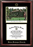 Campus Images ''Western Washington University Embossed Diploma'' Frame with Lithograph Print, 8.5'' x 11'', Gold