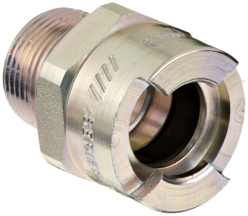 - Dixon QM63 Plated Steel Dix-Lock Quick Acting Air Hose Fitting, 1/2