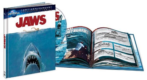 Jaws (Universal 100th Anniversary DigiBook Edition) [Blu-ray + DVD + Digital Copy + UltraViolet]
