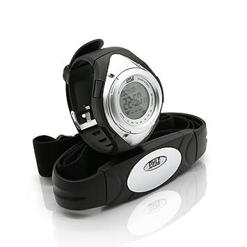 Pyle PHRM38 Reloj Digital pulsómetro, Unisex, Plateado: Amazon.es: Deportes y aire libre