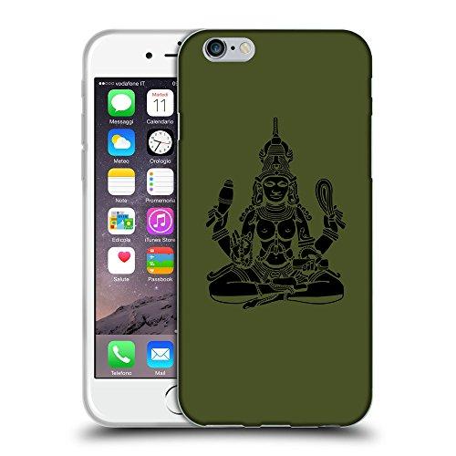 """GoGoMobile Coque de Protection TPU Silicone Case pour // Q08130605 Hindou 4 armée verte // Apple iPhone 6 PLUS 5.5"""""""