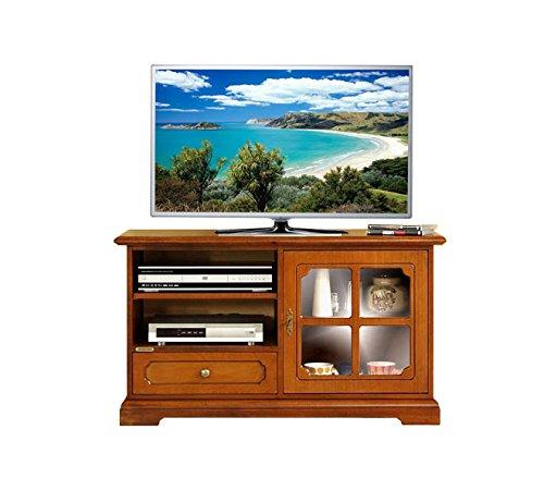 Wooden Tv Unit Small Tv Cabinet 1 Glass Door Tv Stand Living Room