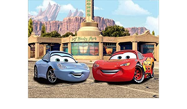 Cars Poster Photo Wallpaper Lightning Mcqueen And Sally 4