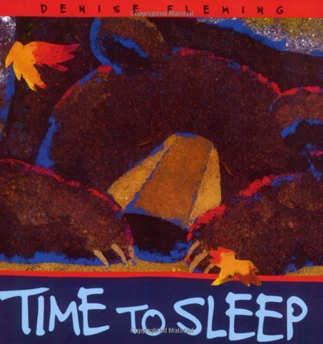 Time to Sleep (An Owlet Book) by Denise Fleming - Square Mall Time