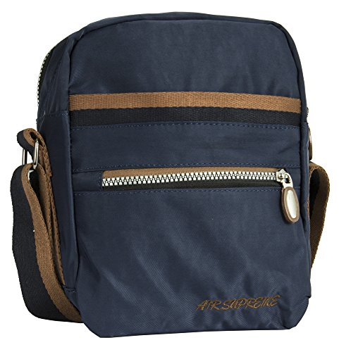 Handbag Shoulder Navy Small Shop Bag Body Style Unisex 2 Cross Fabric Messenger Big Size Lightweight dHBxfdT