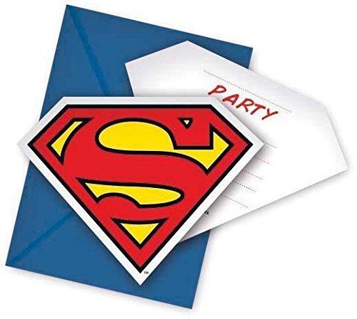 Superman Party Invitations by Unique Party
