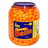 Utz Cheese Balls with Real Cheese Snack, 35 Ounce