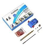 SHUOGOU Mini Pocket Slant Hole Jig Kit + 9.5mm Step Drilling Bit Dowelling Jig Wood Work Tool Set