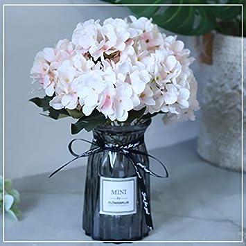 Flores Artificiales Ramo Seda Artificial Flores Decoración De La Sala De Estar De La Flor De
