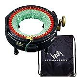addi Express King Size Knitting Machine Kit Includes 46 Needles Bundle with 1 Artsiga Crafts Project Bag