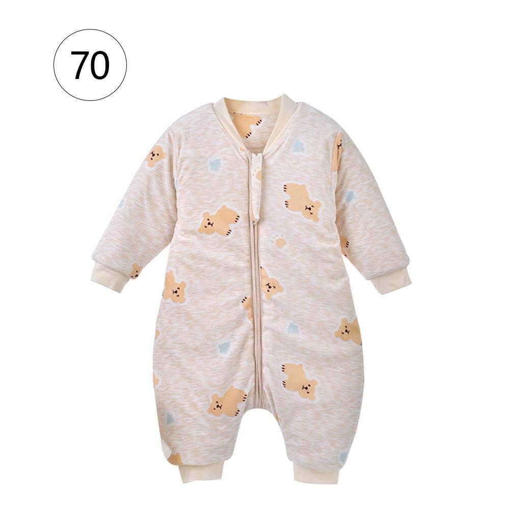 Biback Baby Saco de Dormir Saco de Dormir Mono de poliéster y algodón, cálida, Suave y cómodo y fácil para 1 - 3 AñOS Niños Rosa Panda: Amazon.es: Hogar