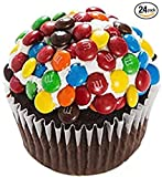 M&M's Mini-Cupcakes - Dessert - Chocolate Cake - 24 Pack - Baked Fresh Day of Order