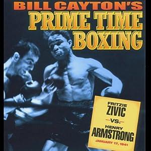 Fritzie Zivic vs. Herny Armstrong Radio/TV Program