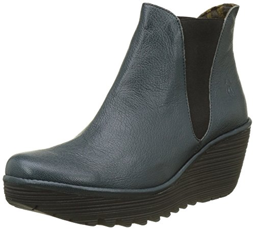 Yoss Blue Boots Fly Reef Women's London 6InYE