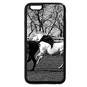 iPhone 6S Case, iPhone 6 Case (Black & White) - CONTRAST