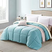 MANZOO Queen Comforter Duvet Insert - Quilted Comforter with Corner Tabs - Hypoallergenic, Plush Siliconized Fiberfill...