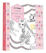 L'album de mon chat à colorier par Cathy Delanssay
