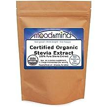 Organic Stevia Extract Powder No Fillers 1lb(448g)