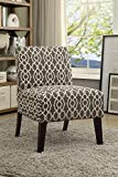 Modern Microfiber Accent Chair for Living Room