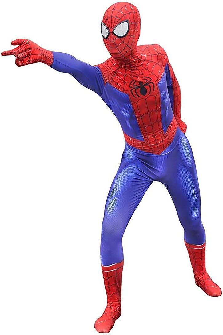 Riekinc Unisex Lycra Spandex Zentai Halloween Cosplay Costumes Adult//Kids 3D Style