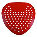 1001 commercials - Boardwalk 1001 Urinal Screen, Cherry Fragrance, Red (Box of 12)