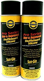 Sun-Glo Silicone Shuffleboard Spray (12 oz.)