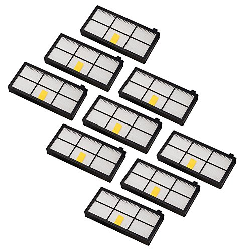 Neutop HEPA Filters Replacement for iRobot Roomba 860 870 877 880 890 805 960 980 Parts Accessories 800 900 Series Robotic Vacuum Cleaners, 9-Pack