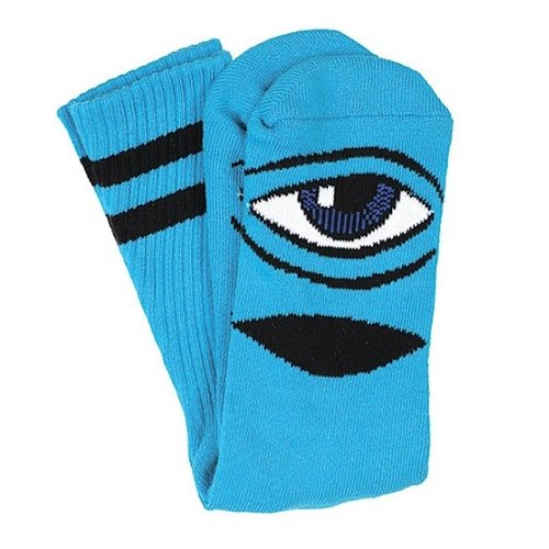 Toy Machine Sect Eye (Toy Machine Sect Eye III Crew Socks-Blue 1 Pair)