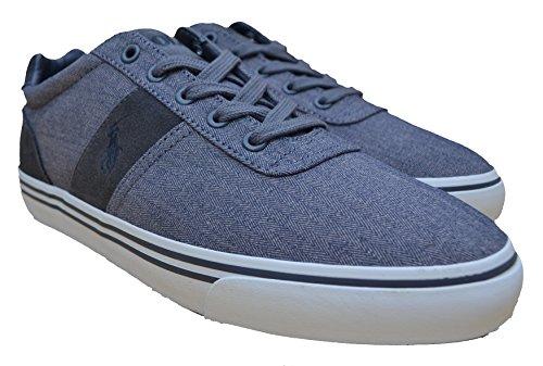 Ralph Lauren - Zapatillas de Lona para hombre gris Grau / Grey 42 EU 43 EU 44 EU 45 EU