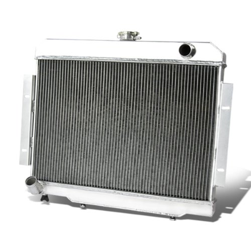 For Jeep CJ 3-Row Full Aluminum Racing Radiator (Manual Transmission Only)