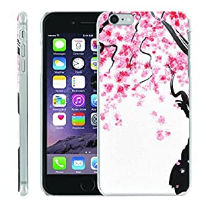 [ManiaGear] [SLIGHT] Thin Clip On Image Shell Cover Hard Case (Blassom Rain) for Iphone 6 (4.7)