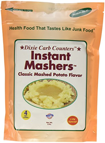 Price comparison product image Dixie Carb Counters Classic Instant Mashers - Low Carb Potatoes Substitute