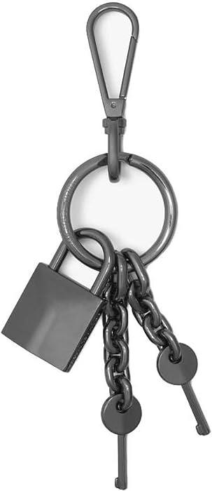 Michael Kors Key Chain (Gunmetal, One Size)