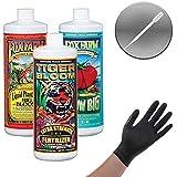 Fox Farm Liquid Nutrient Trio Hydro Formula: Big Bloom, Grow Big Hydro, Tiger Bloom (Pack of 3-16 oz. Bottles) 1 Pint…