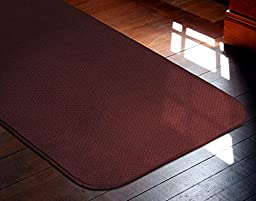 Skid-resistant Carpet Runner - Burgundy Red - 6 Ft. X 27 In. - Many Other Sizes to Choose From