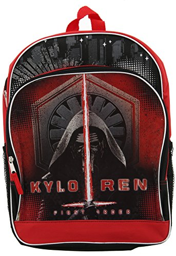 Star Wars Episode 7 The Force Awakens Backpack - Features Kylo - Ren Backpack Kylo