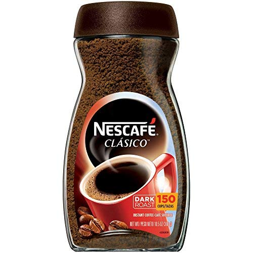 NESCAFE CLASICO Instant Coffee 10.5 oz. Jar (Pack of 5)
