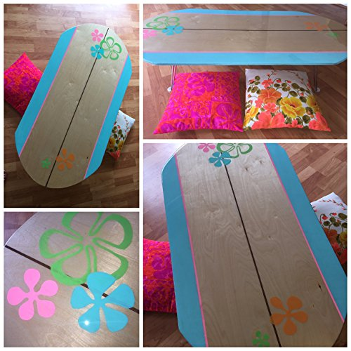 Surfboard Table by Sandy Sea Treasures
