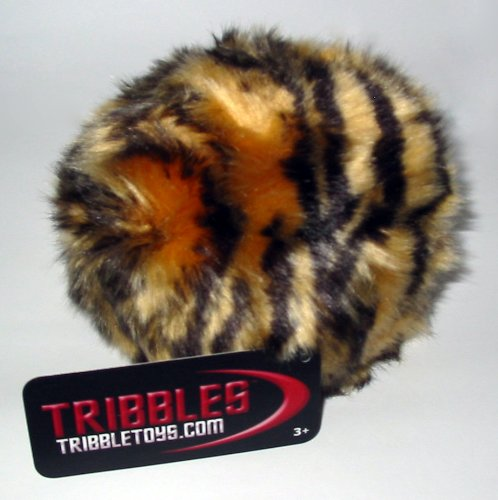 - STAR TREK PLUSH TRIBBLE - Tiger Camouflage - Small Size