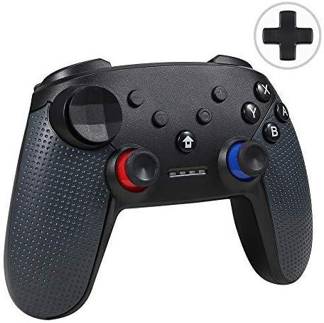 Jevogh Controlador Switch Pro inalámbrico, GR92 Controlador Bluetooth Pro para Nintendo Switch y PC, Mando de Juegos inalámbrico Joypad Remoto con DualShock y Gyro Axis: Amazon.es: Electrónica