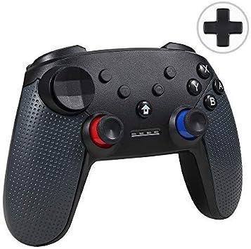 Jevogh Controlador Switch Pro inalámbrico, GR92 Controlador ...