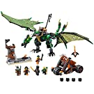 LEGO NINJAGO The Green NRG Dragon 70593 Fun Toy