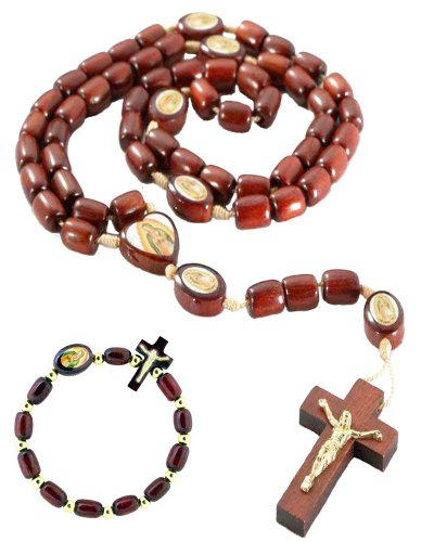 Guadalupe Cherry Wooden Necklace Bracelet product image
