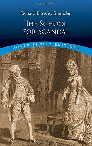 The School for Scandal (Dover Thrift Editions)