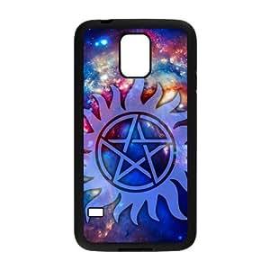 FEEL.Q- Custom Rubber Back Fits Cover Case for Samsung Galaxy S5 S V I9600 - Supernatural