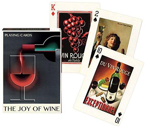 Piatnik The Joy of Wine Playing Cards