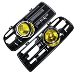 vw gti mk4 fog lights - Heart Horse Front Lower Bumper Grille Fog Light Lamp for VW Golf MK4 GTI TDI 6000K 98 99