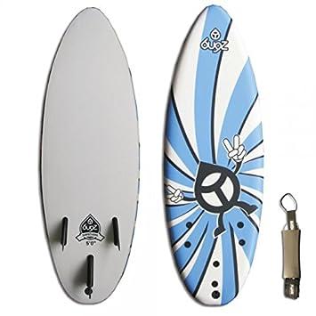 Tabla de surf bugz Basic soft de 5.0 niños + foraze deckeneinbauleuchten Suncare mawaii SPF{